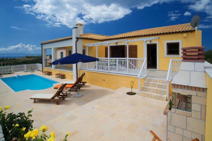 Faros Villa Kefalonia - Karavados - Maison