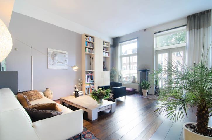 Sunny, Elegant, Spacious apartment in the Centre - Amsterdam - Appartement