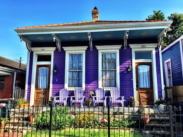 Updated Uptown Creole Cottage Blocks from Parades!