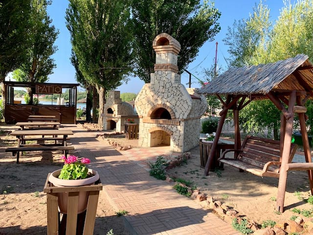An Amazing Lux cottage on the Issyk-Kul lake.