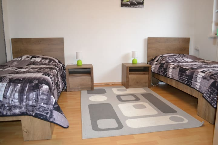 Ubytovanie v dome 2 spálne, 4 lôžka
