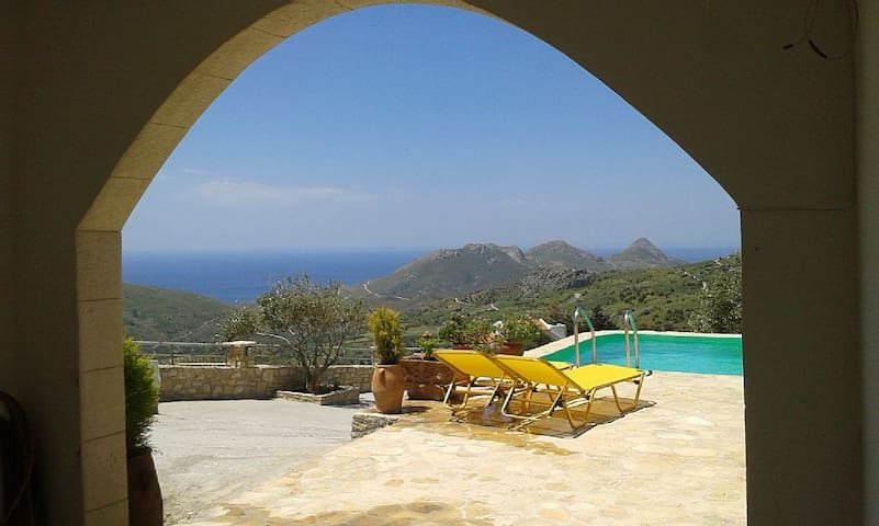 2 Bedroom Villa with amazing view - Drimiskos - Hus