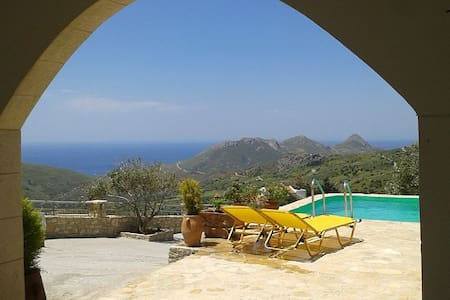 2 Bedroom Villa with amazing view - Drimiskos - Rumah