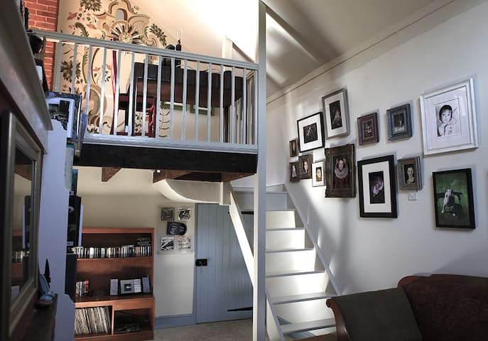 Stairs from Lounge to Bedroom