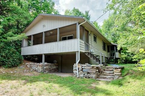 Adirondack Cabin | Pets OK | Near Whiteface | Wifi