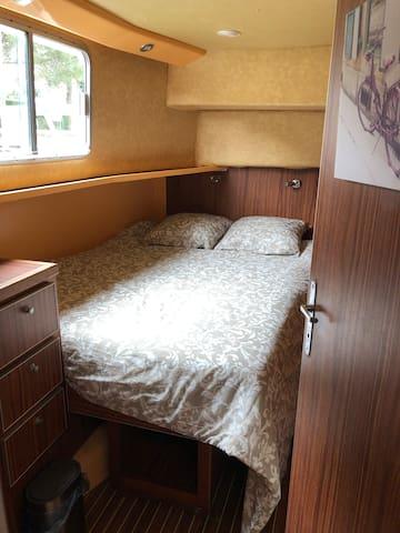 Chambre 1. Possibilité de faire deux lits simples séparés