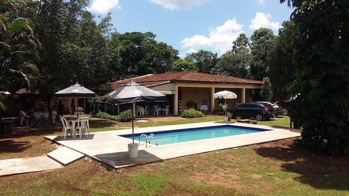 chacara com casa de campo em Ribeirão Preto
