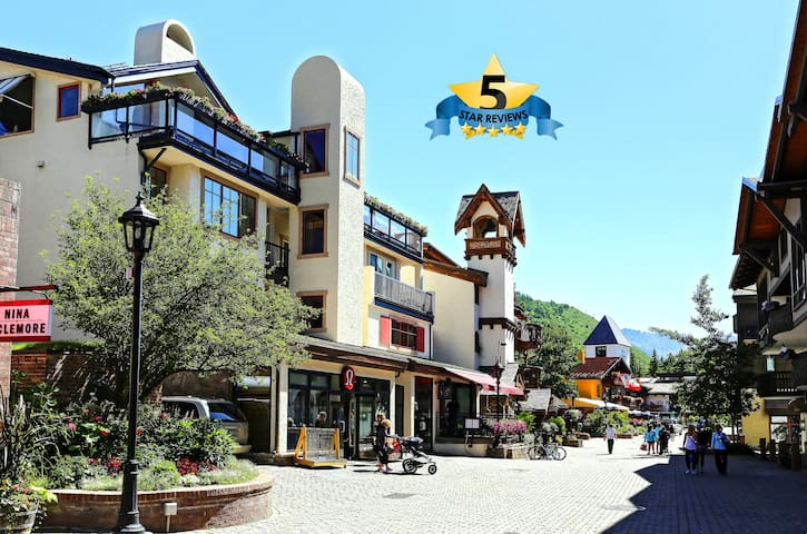Vail Village 2BR - Steps to Skiing - Vail - Byt