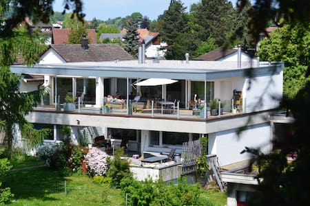 Stylish Guestroom next to Lake including Breakfast - Romanshorn - House