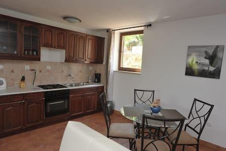 Apartments Biba / Two Bedrooms Oleander - Splitska - Apartament