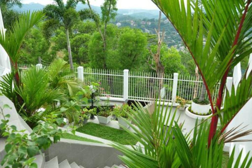 1st floor garden
