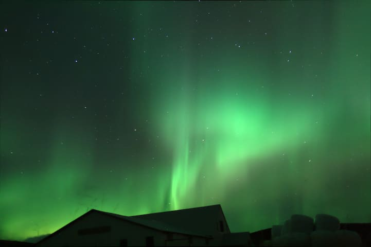 A wonderful Northern Lights location