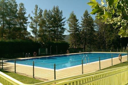 Chalet Adosado con piscina pública - Bienservida - Таунхаус