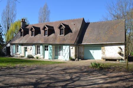 longère au coeur des chateaux - Chaumont sur Loire - House