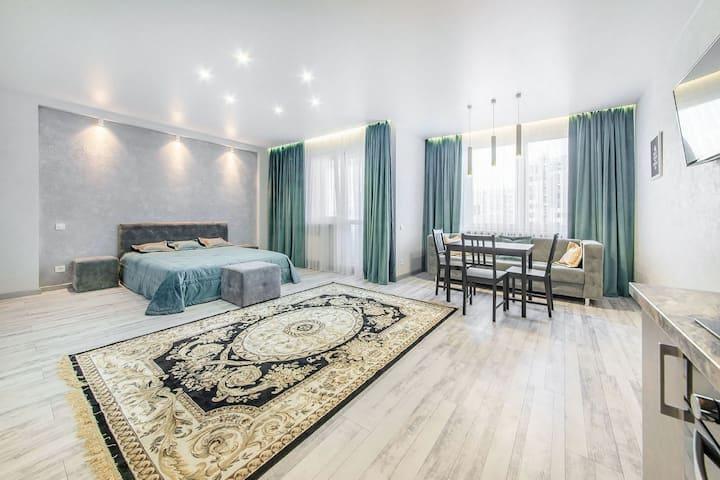 Новые апартаменты в современном районе Минска