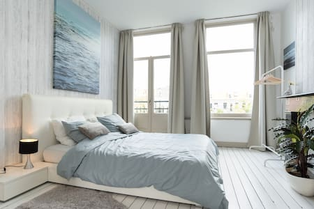 Bright & Airy Canal Apt (superhost) - Amsterdam - Appartement