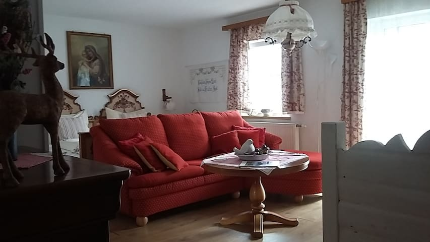 Familyroom  Spatzennest m.Couch,Bad.Toilet  Balkon
