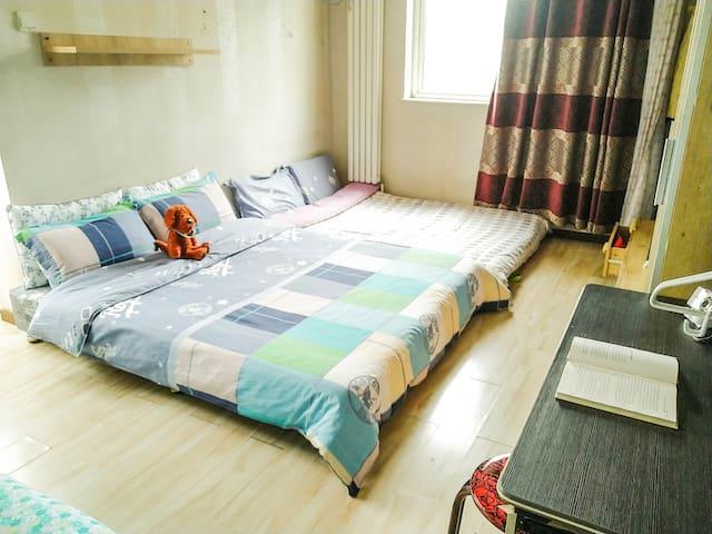 超大房间 全屋舒适暖气 二环里 天安门 天坛