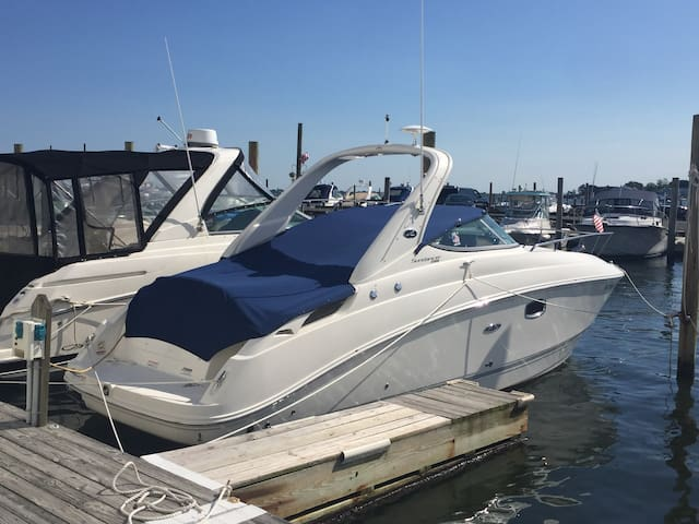 New 30' 280 Searay cabin cruiser