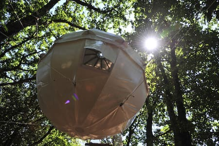 Cocoon Tree Tent for two by the lake - Montolieu - Baumhaus