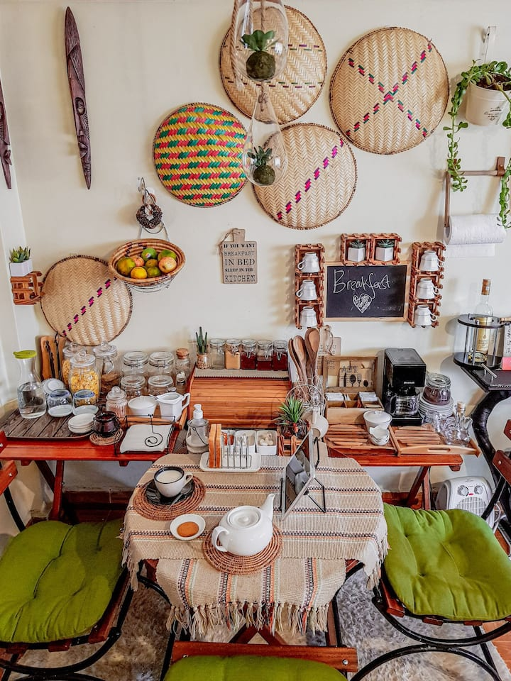 African Hospitality in an African Home