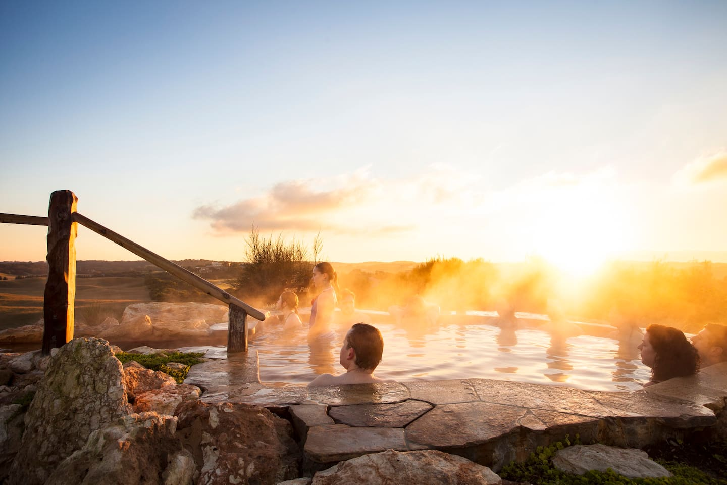 Local attraction: Peninsula Hot Springs - always enjoyable.