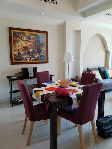 Cozy apartment in Downtown island - Dubaj - Apartament