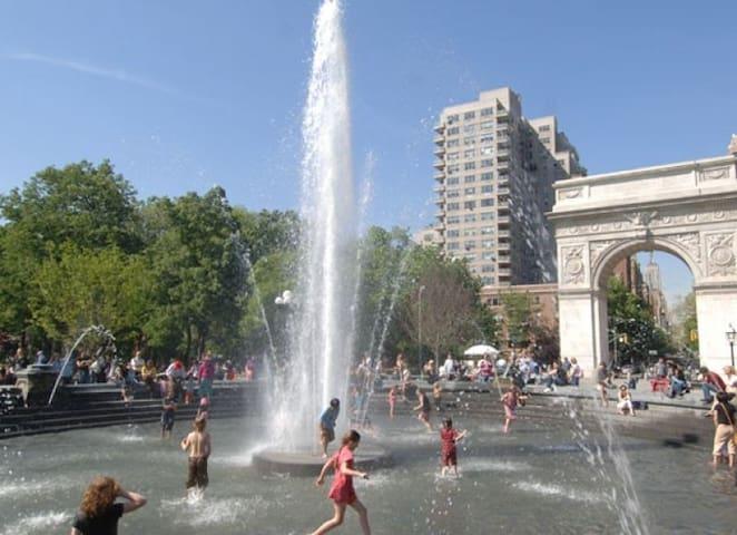 Heart of Greenwich Village!