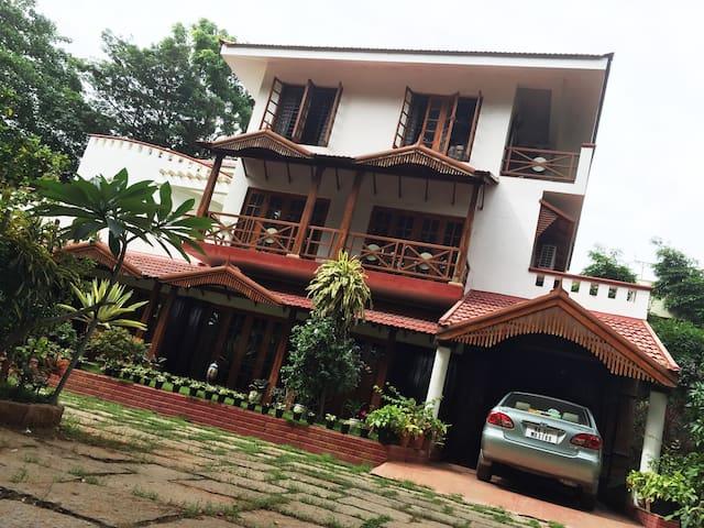 Villa Serena -A luxury home amidst 1.5 acre garden