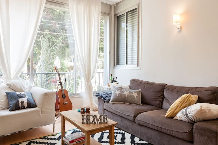 Stylish and Cozy! Heart of TLV! - Tel Aviv-Yafo