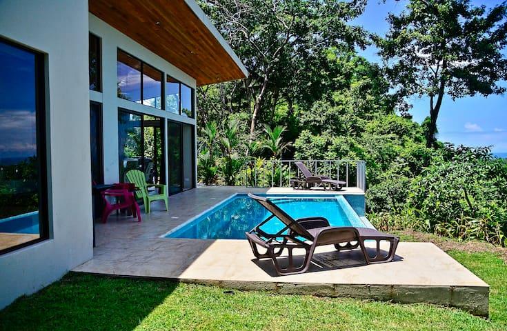 Modern, easy access, ocean & Sunset, Infinity Pool - Dominical - 別墅