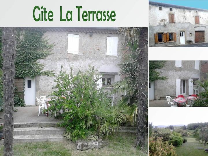 "Gîte "" La terrasse"""