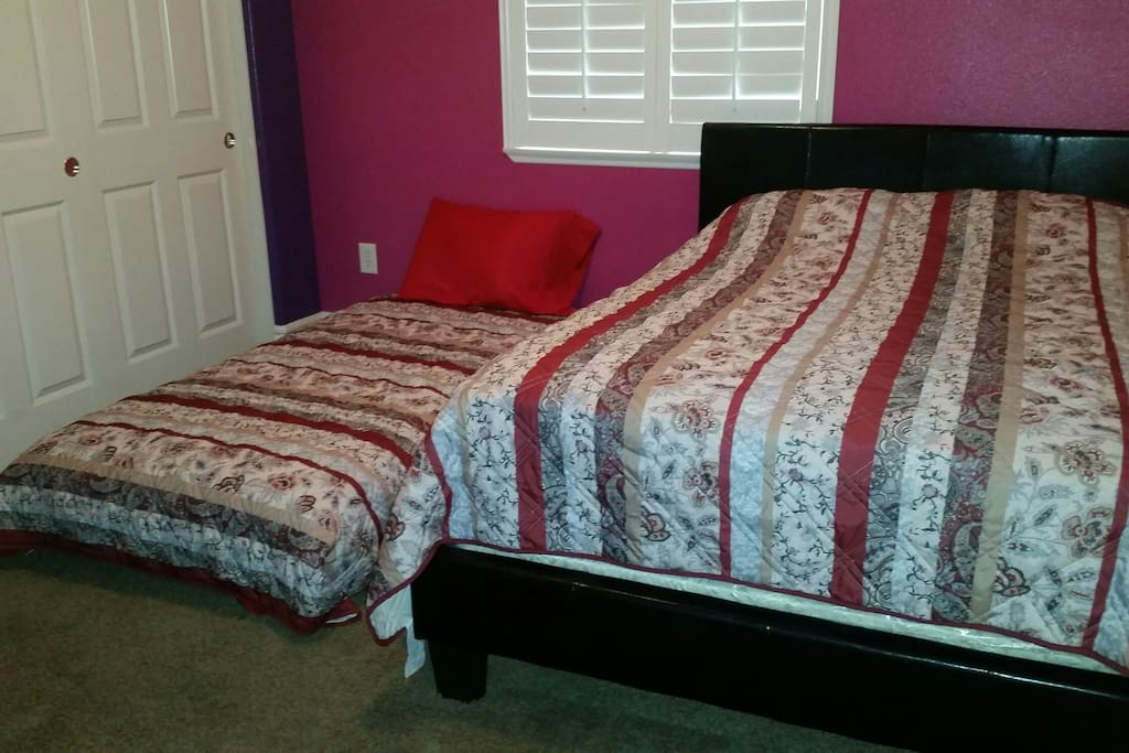 Extra twin bed upon request