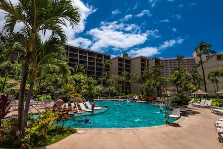 Kaanapali Shores Ocean View Condo Resort