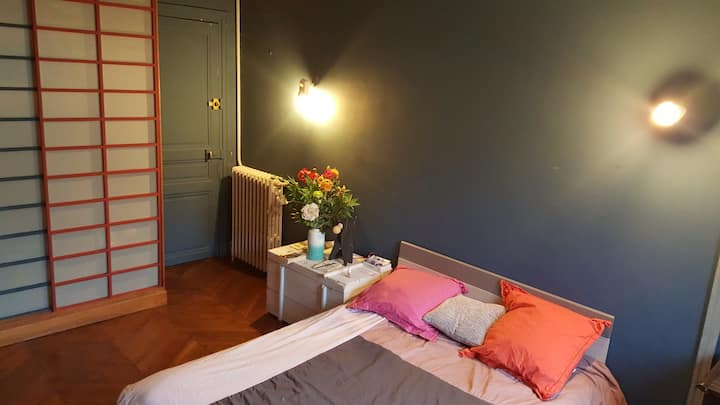 Nice and private room in the center of Paris