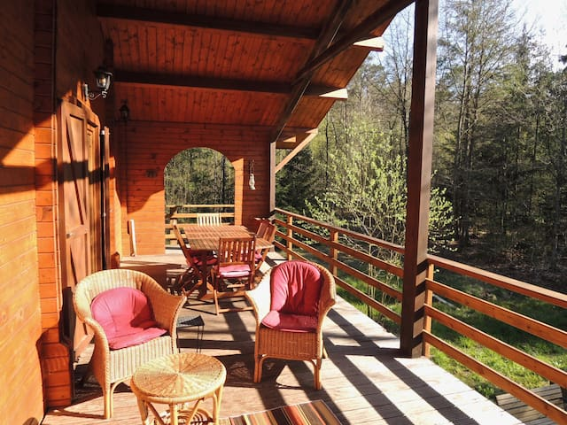 Guesthouse in the Ardennes Forest - Erezée - Chalé