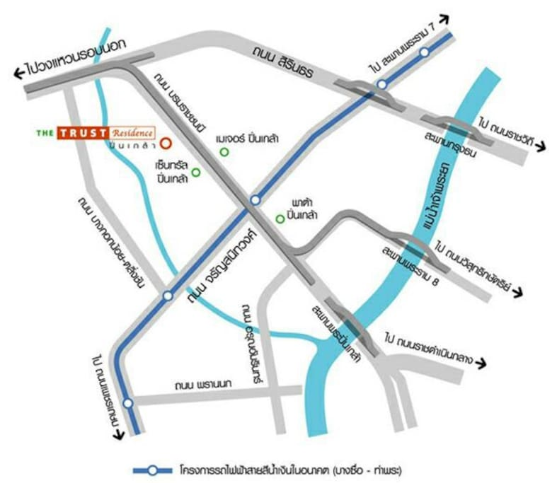 Show this Map to your Taxi