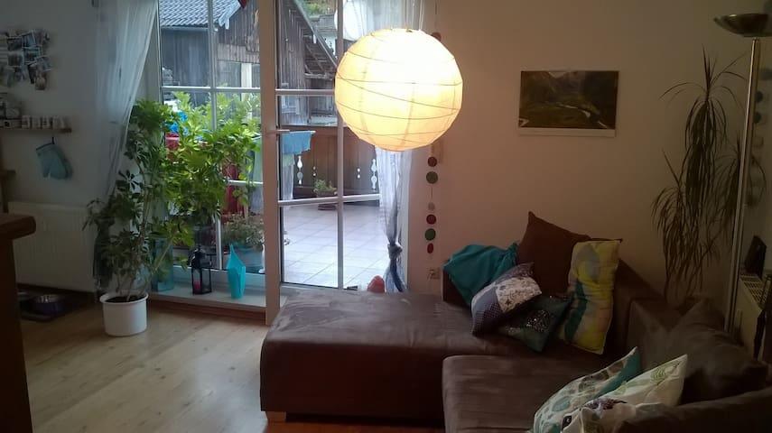 Wunderschöne, helle und ruhige Wohnung im Ort - Murnau