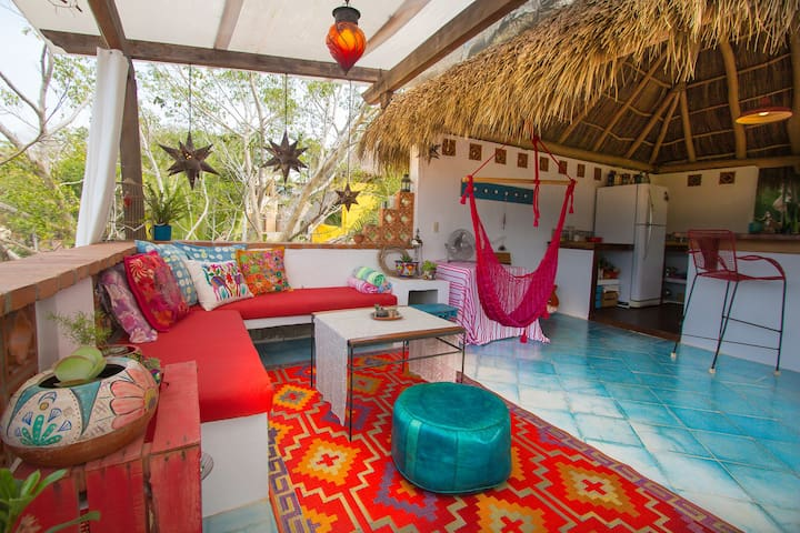 Jungle view loft/ Casita Solanita - Sayulita - Rumah