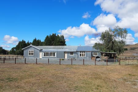 Glenmore Farmhouse (farmstay) - Tekapo - Dom