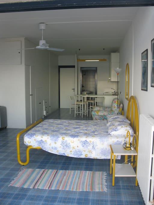 appartamento visto dal terrazzo