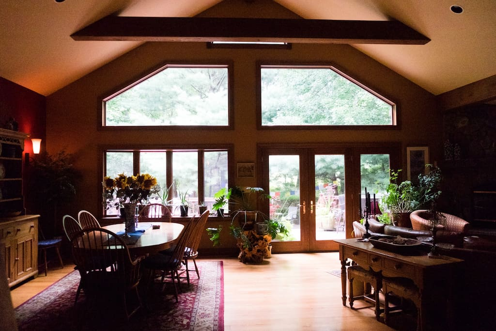 Open airy space