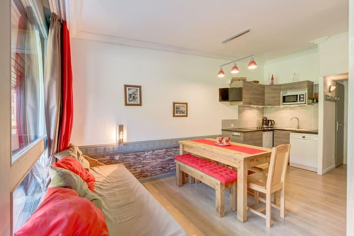Appartement rénové  Les arcs 1800