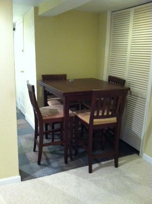 Basement apartment for rent in Mt P