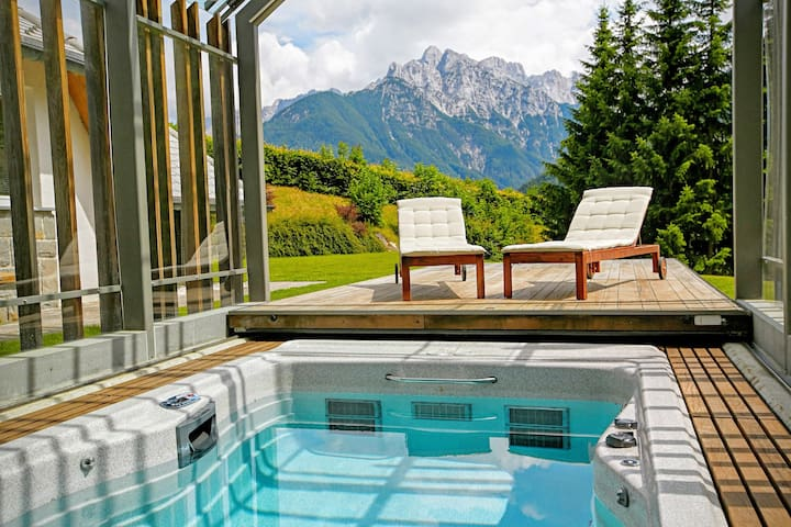 Luxury alpine villa for lesure or active holidays - Podkoren - Huis