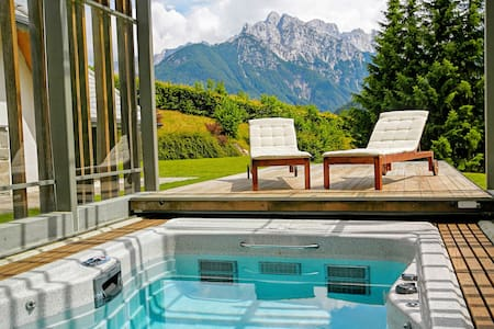 Luxury alpine villa for lesure or active holidays - Podkoren - Casa