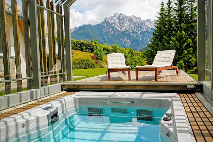 Luxury alpine villa for lesure or active holidays