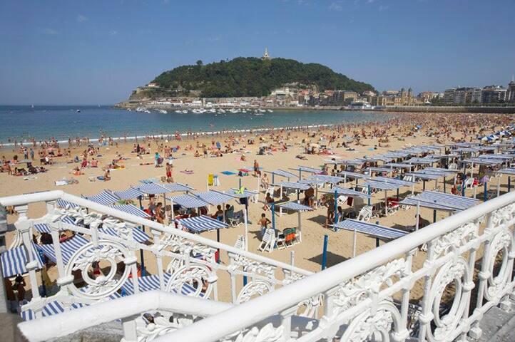 CENTRO 50 metros Playa Concha - Donostia - Condominio