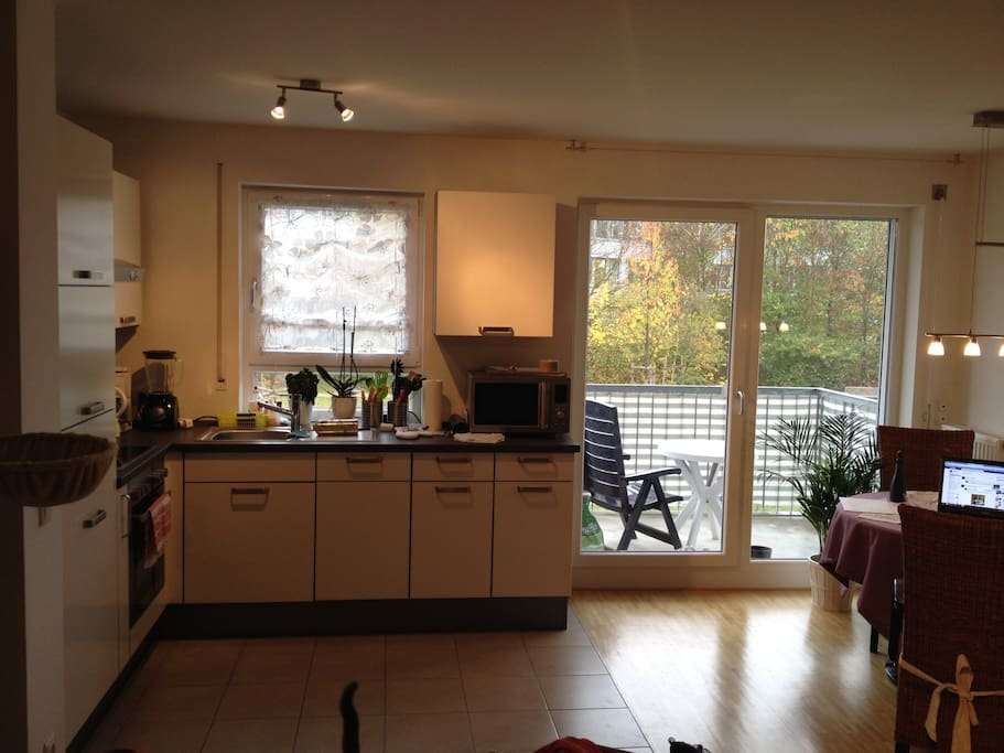 Kitchen incl. oven, dish washer