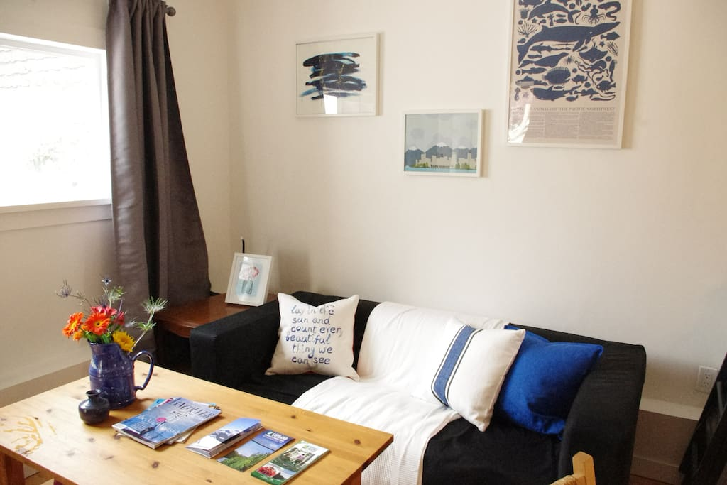 Bright and cosy three bedroom apartment.